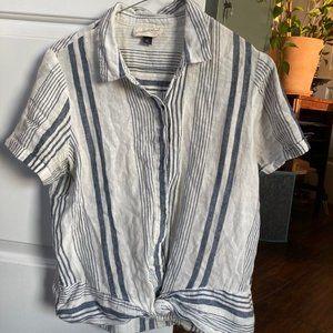 Universal Thread linen button down shirt